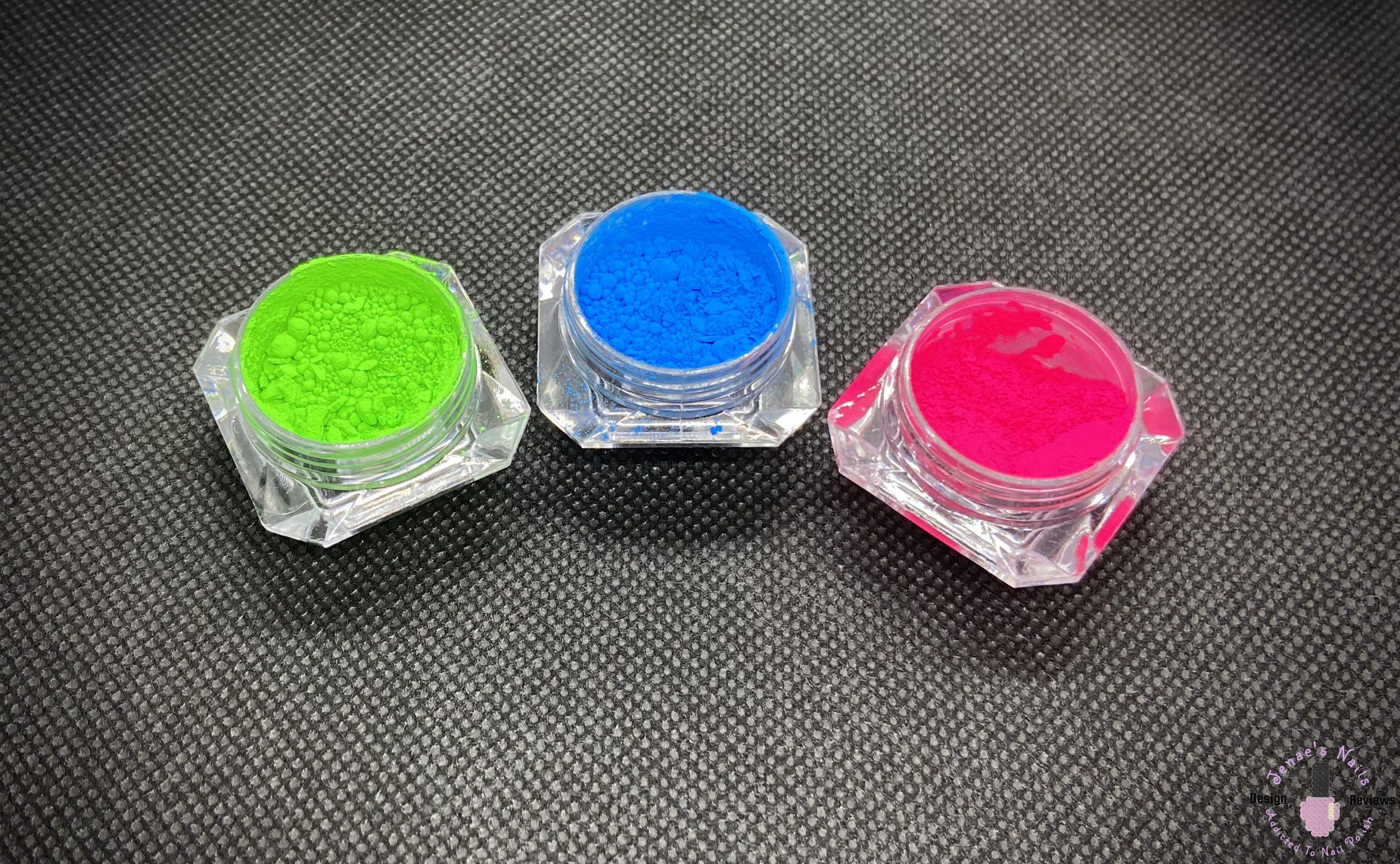 Born Pretty Neon Pigment Powder Review