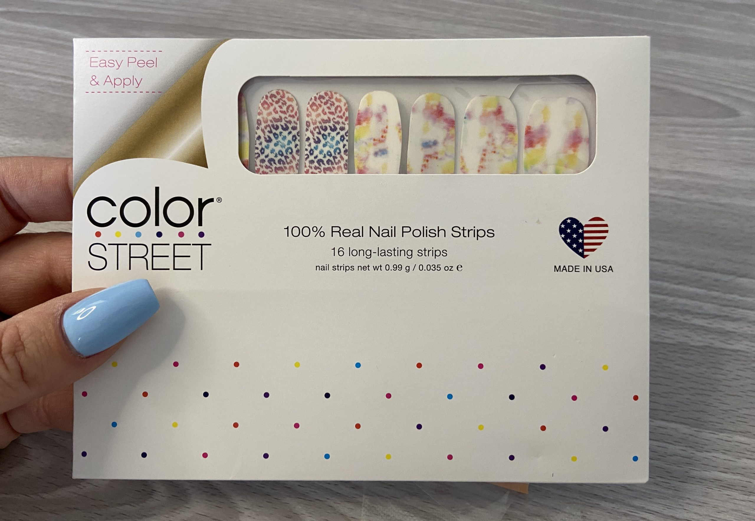 Color Street Nail Polish Strips Review
