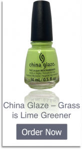 China Glaze - Grass is Lime Greener