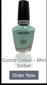 Cuccio Mint Sorbet - Home Page