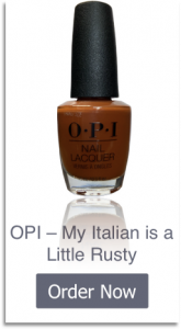OPI - My Italian is a Little Rusty