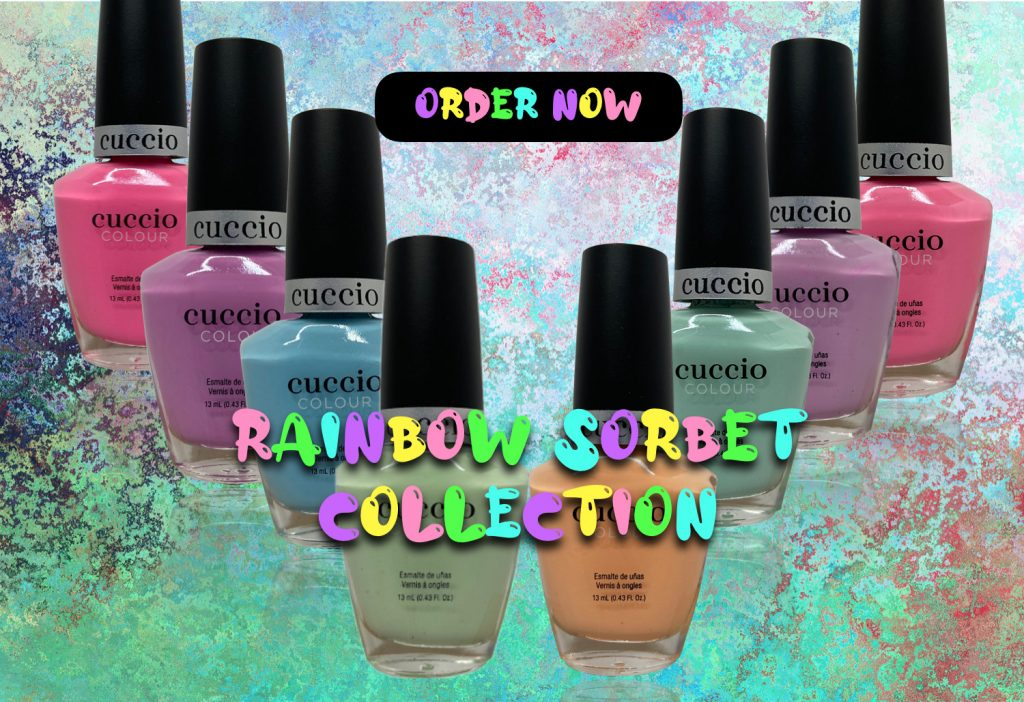 Rainbow Sorbet Collection Top Banner